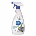 Высокоэффективное средство для удаления жира с кухонных поверхностей, 500 мл BON BN-156