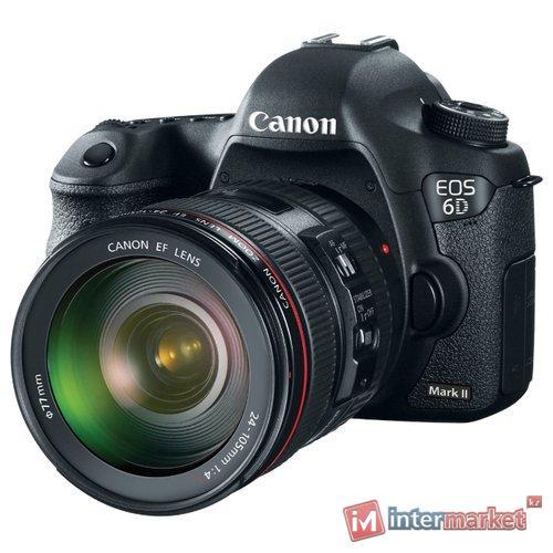 Зеркальный фотоаппарат Canon EOS 6D Mark II Kit 24-105mm f/4.0L IS USM II