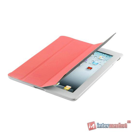 Чехол для планшета, Cooler Master, Wake Up Folio, (C-IP3F-SCWU-RW), iPad4/iPad3/iPad2, Красный