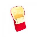 Детский меховой конверт в коляску Ramili Classic Red