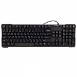 KeyBoard USB, A4 Tech KB-750, compact, Laser inscribed keys, black