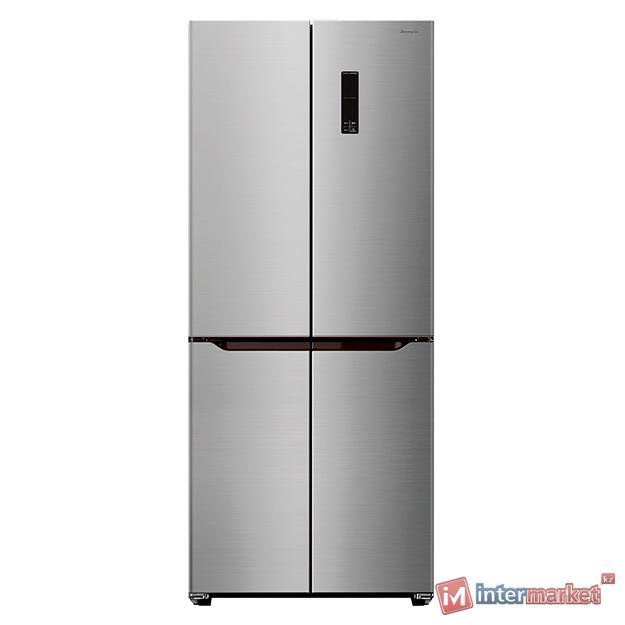 Холодильник SKYWORTH SRM-393CB Side by side, Inox