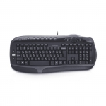 Клавиатура Delux DLK-9050UB, Чёрный