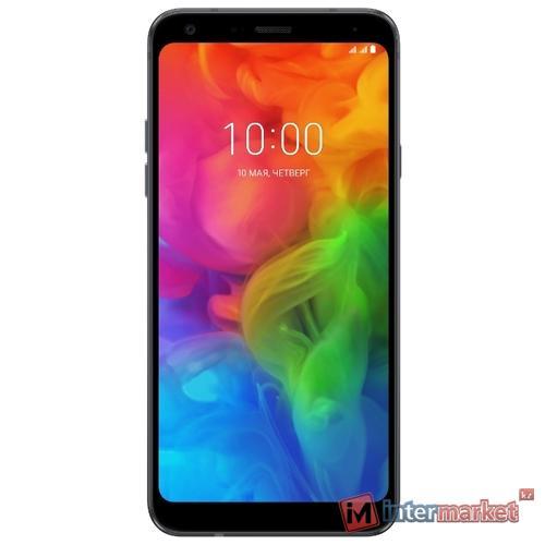 Смартфон LG Q7 (New Aurora Black)