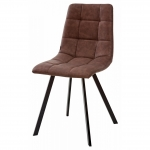 MC UDC8025 (Chilli Square) RU-05 стул коричневый винтаж/черный