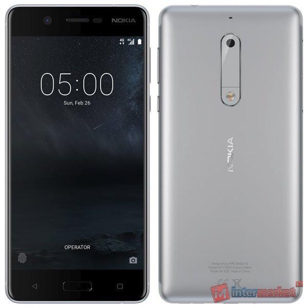 Смартфон Nokia 5, Silver