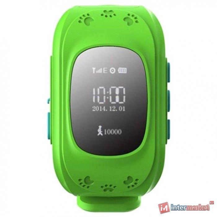 Часы Smart Baby Watch Q50, green