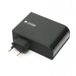 Сетевое зарядное устройство PowerPlant W-660 4xUSB: 220V, 6.8A