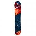 Сноуборд Net, красно черный, ростовка 140