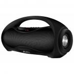 Портативная акустика SVEN PS-420, черный, акустическая система 2.0, Bluetooth, FM, USB, microSD, LED-дисплей /