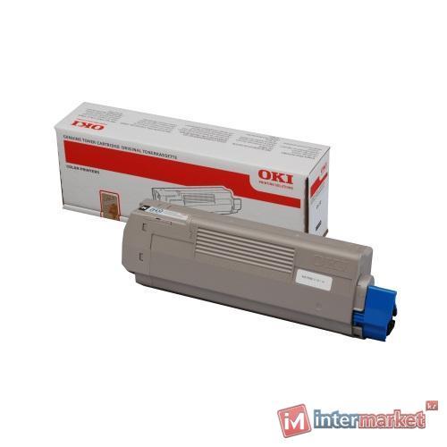 Тонер-картридж OKI Toner-MC861-Cyan - 10k Non EU