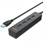 USB HUB 4-port USB 3.0 Orico W8PH4-U3, Black
