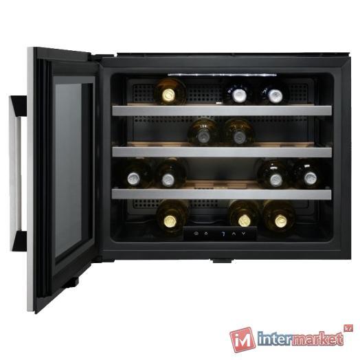 Встраиваемая винотека ELECTROLUX-BI ERW0670A, Черный